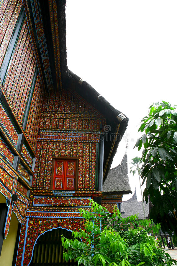 Download Culture house sumatra stock photo. Image of roof, window - 17101708