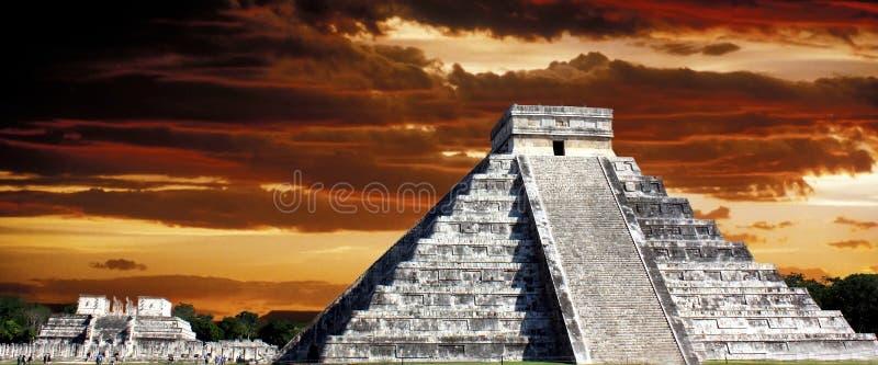 Culture maya images stock