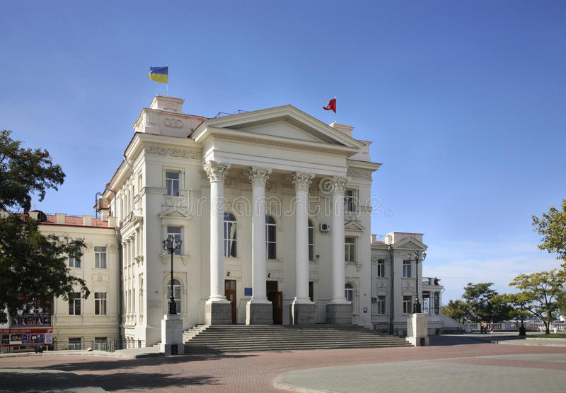 Culture Palace in Sevastopol. Ukraine royalty free stock images