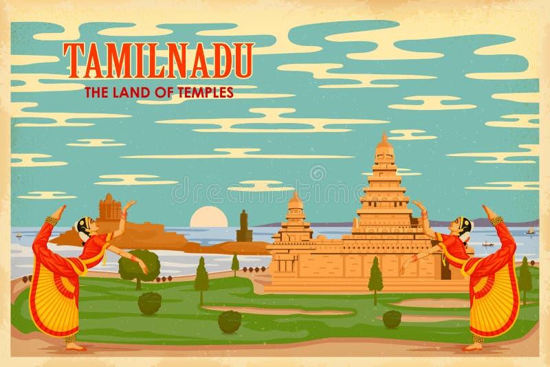 Culture of Tamilnadu stock vector. Illustration of destination  39715388