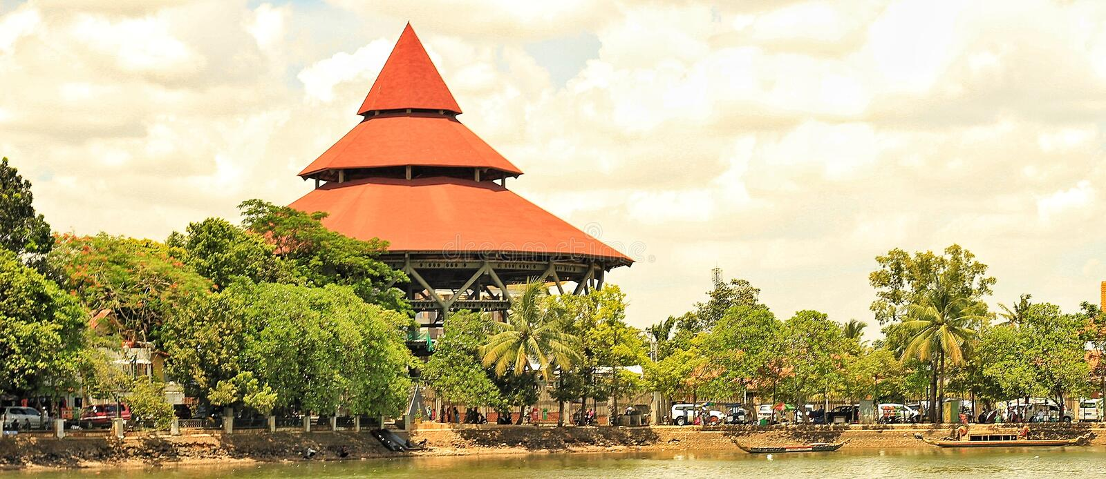 Culture village of betawi. This culture village of betawi is site at depok city stock photography