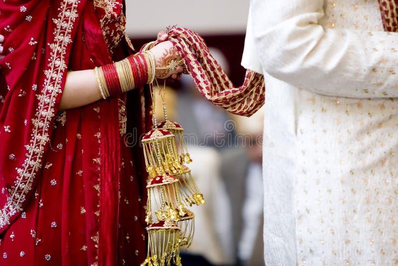 Cultureel huwelijk stock foto's