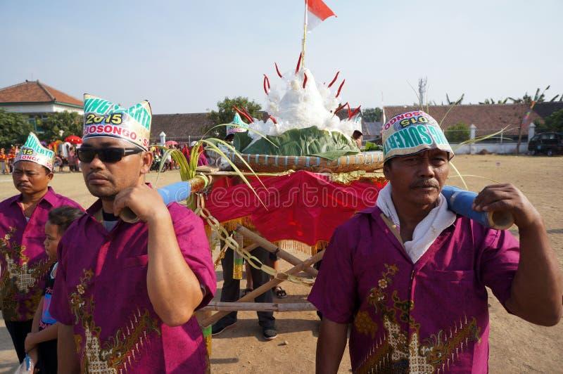 Culturele parade royalty-vrije stock afbeeldingen