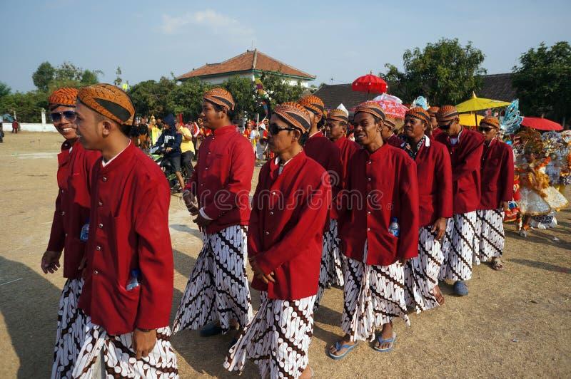 Culturele parade stock afbeelding