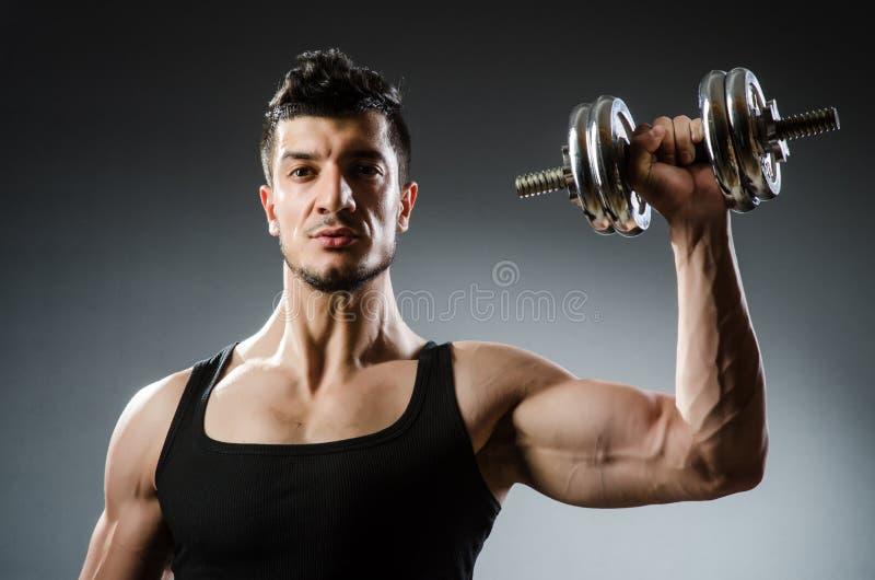Download Culturista Rasgado Muscular Imagen de archivo - Imagen de bíceps, adulto: 41914289