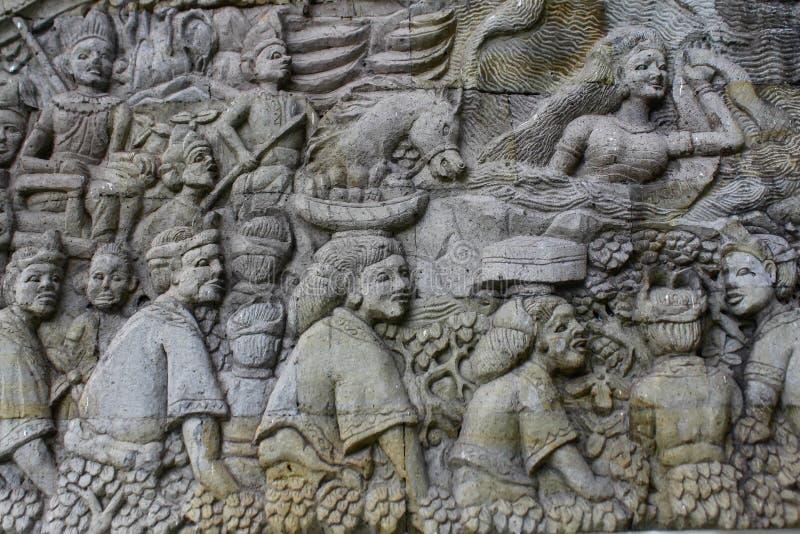 Cultuurhulp van Lombok royalty-vrije stock foto