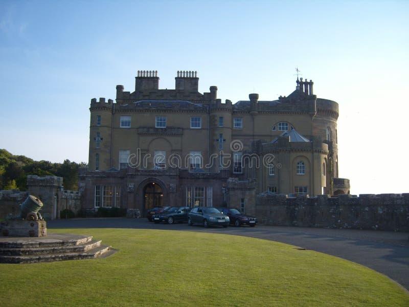 Culzean Castle in Ayrshire Scotland royalty free stock image