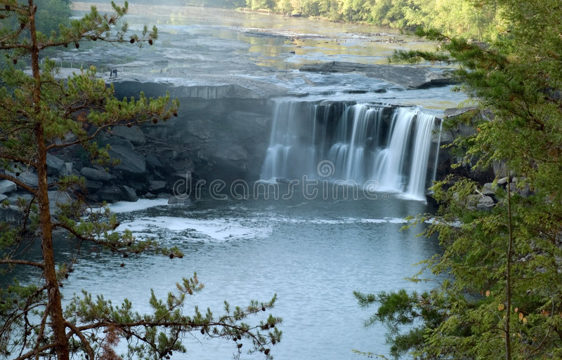 Cumberland Falls Stock Photo