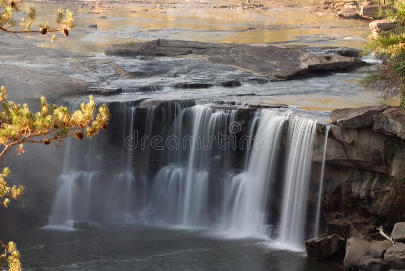Cumberland Falls royalty free stock images