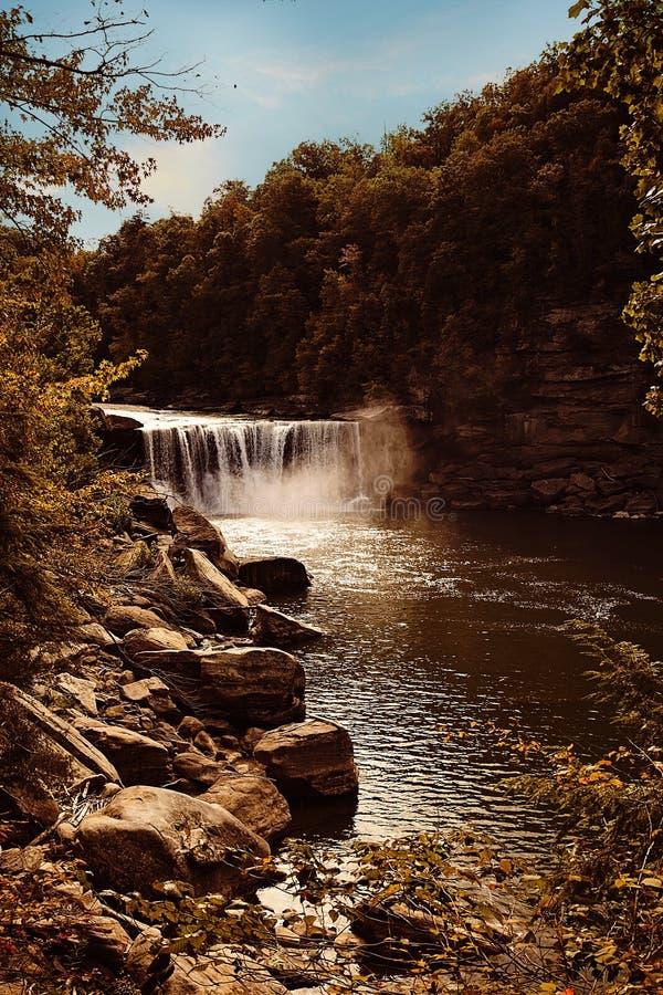 Cumberland Falls in Corbin, Ky royalty free stock photo