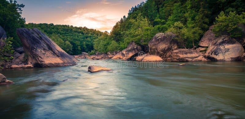 Cumberland River Royaltyfria Foton