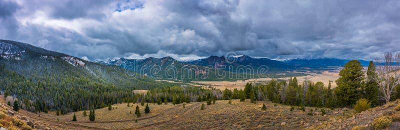 Cumbre de la galena del paisaje de Idaho imagenes de archivo