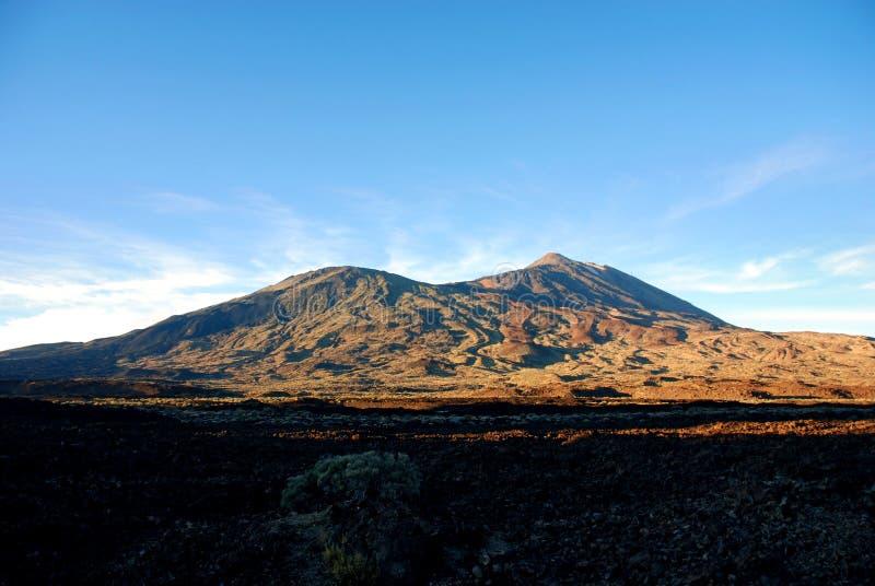 Cumbre de Teide en Tenerife imagenes de archivo