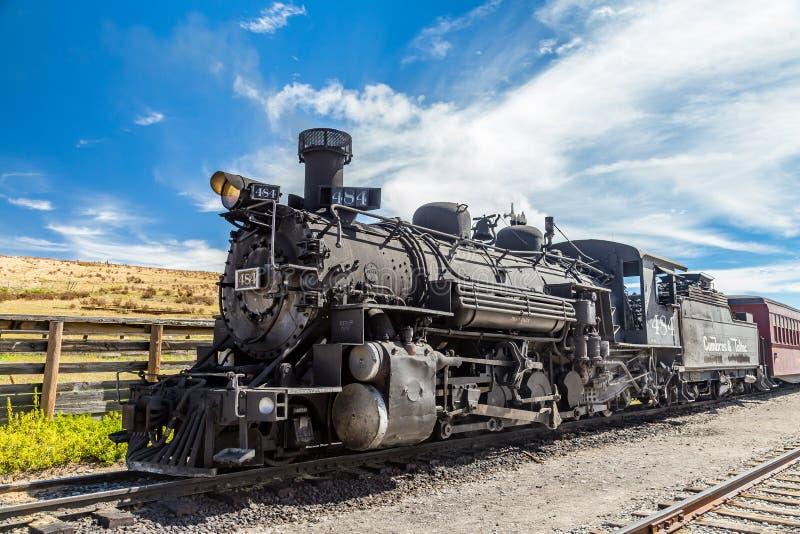 Cumbres & Toltec locomotive royalty free stock image