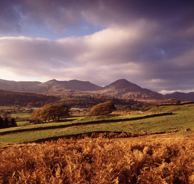 Cumbria della sosta nazionale del distretto del lago fotografie stock libere da diritti