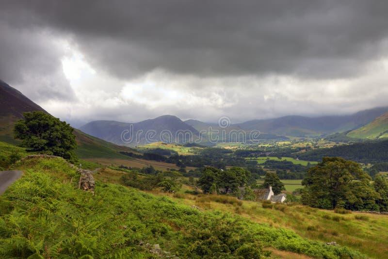Cumbria rural fotografía de archivo