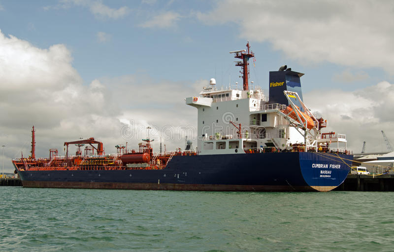 Download Cumbrian Fisher Oil Tanker, Portsmouth Editorial Image - Image: 34609540
