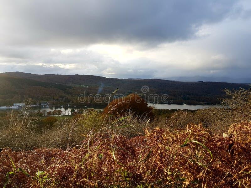 Cumbrian Landschaft lizenzfreies stockfoto