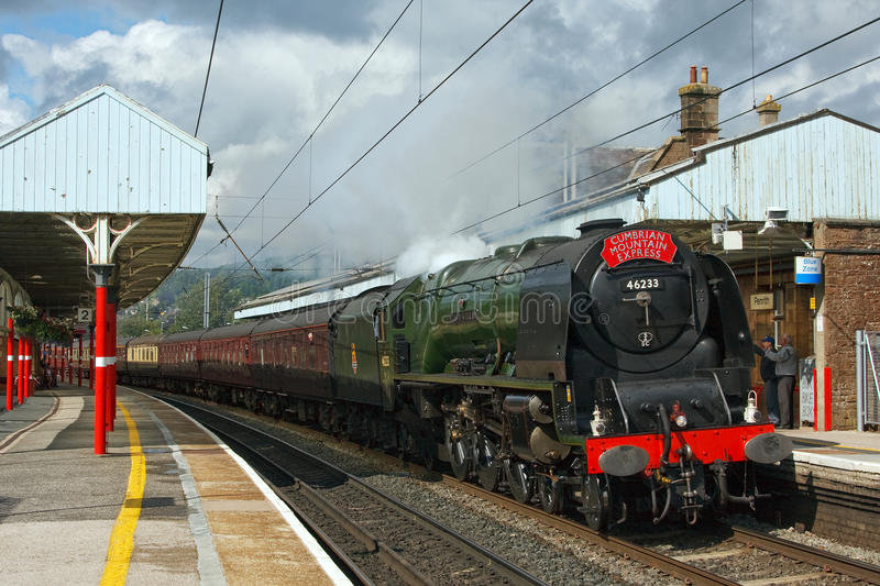 Download Cumbrian Mountain Express editorial stock image. Image of penrith - 25919629