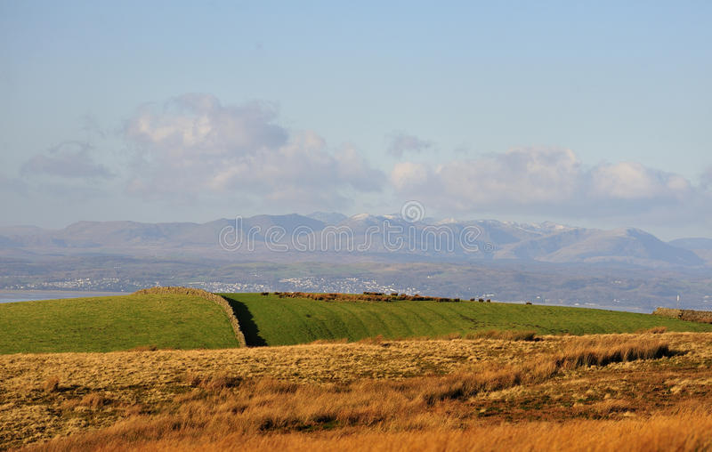 Download Cumbrian Mountains From The Bowland Moors Stock Photos - Image: 22772753