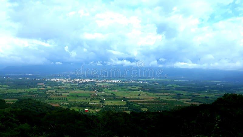 Cumbum grön dal av södra Indien, druvastad, tamilnadu, fotografering för bildbyråer