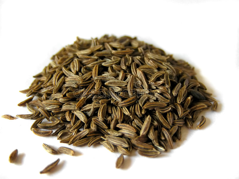 Download Cumin stock photo. Image of isolated, pile, many, seeds - 125744