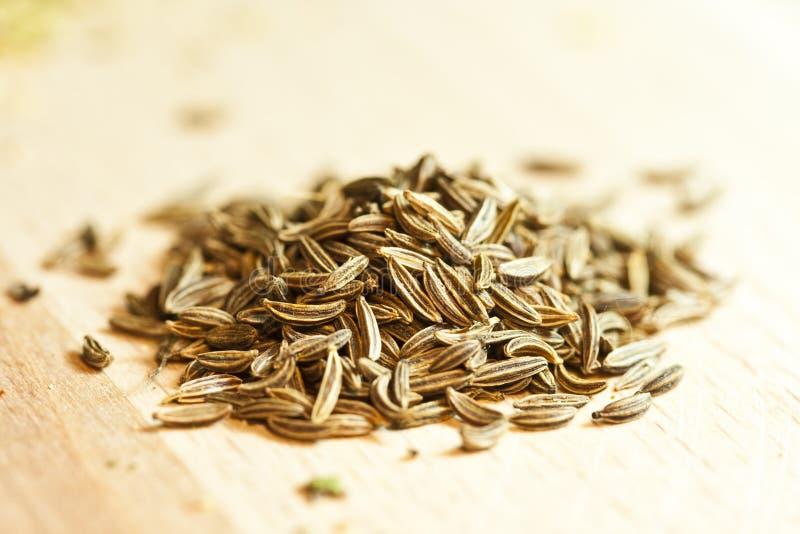 Cumin seeds royalty free stock photos