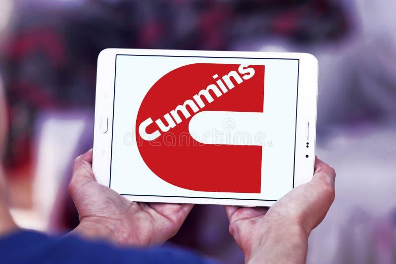 Cummins-Firmenlogo stockbild
