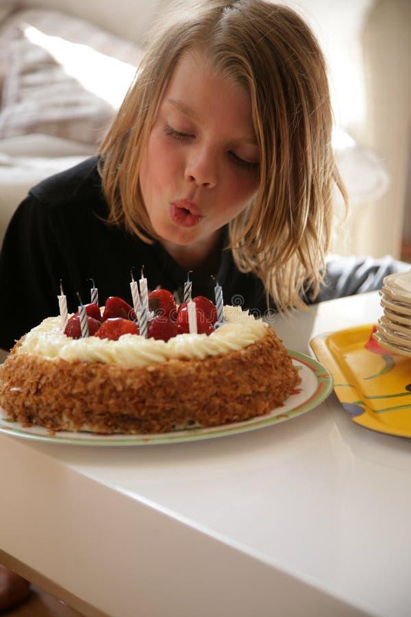 Cumpleaños foto de archivo
