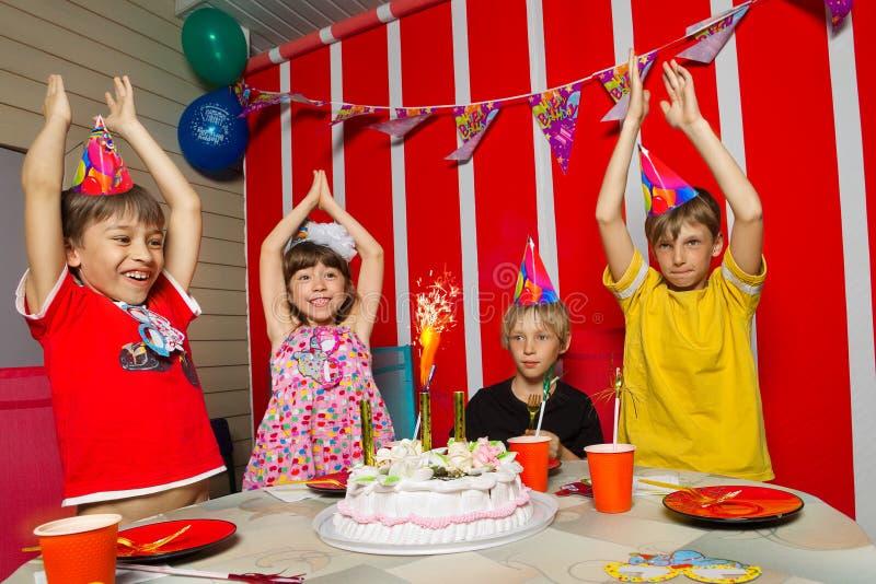 Cumpleaños fotografía de archivo libre de regalías