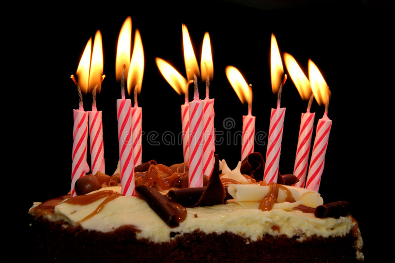 Cumpleaños foto de archivo libre de regalías