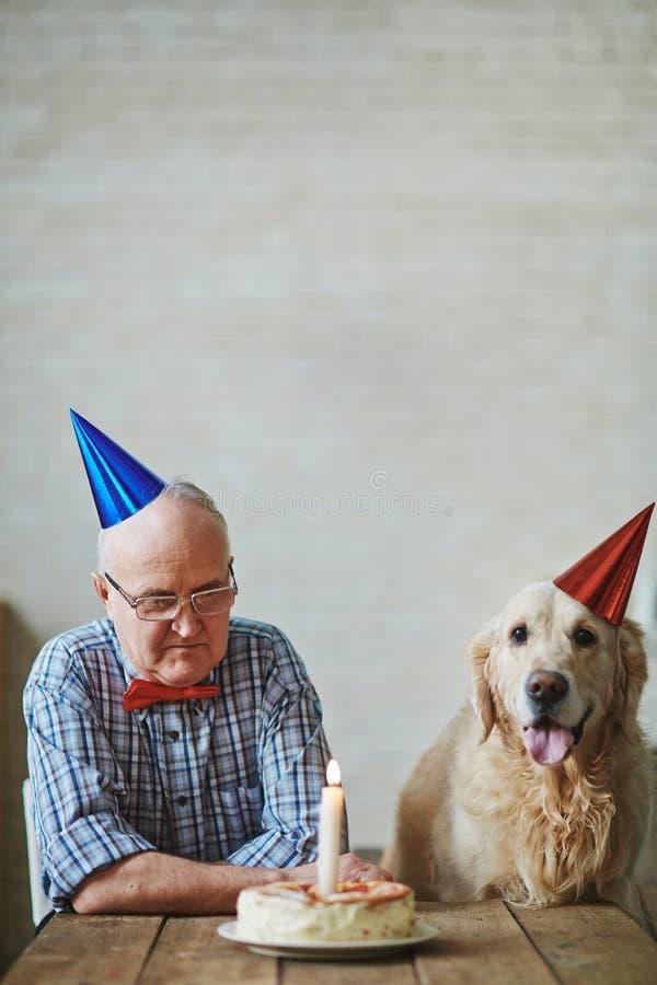 Cumpleaños de amigos fotos de archivo libres de regalías