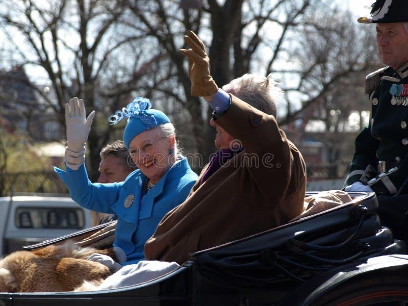 Cumpleaños de la reina Margarita de Denmarks 70.o fotografía de archivo