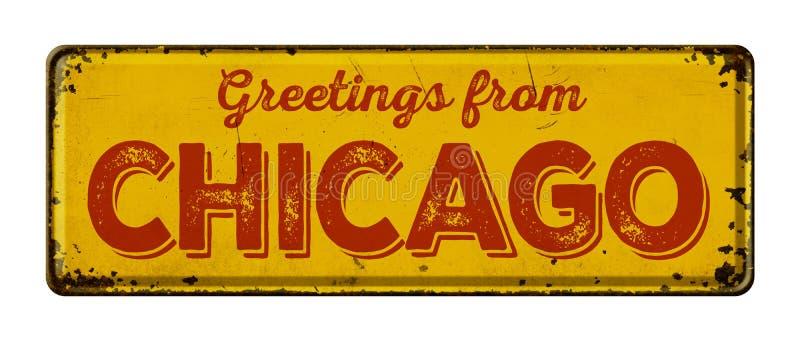 Cumprimentos de Chicag imagens de stock royalty free