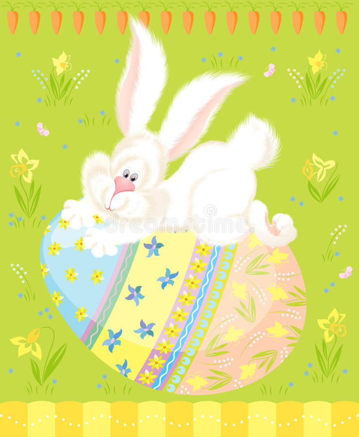 Cumprimentos de Easter ilustração do vetor