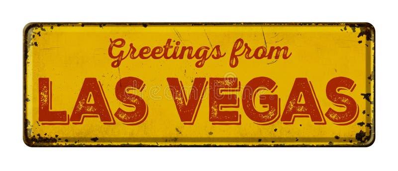 Cumprimentos de Las Vegas fotos de stock