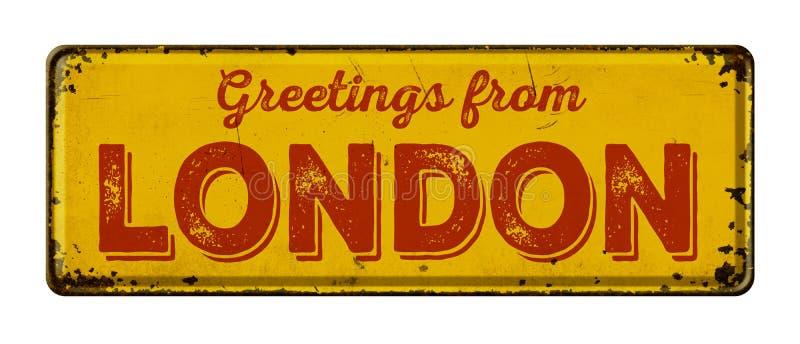 Cumprimentos de Londres imagens de stock
