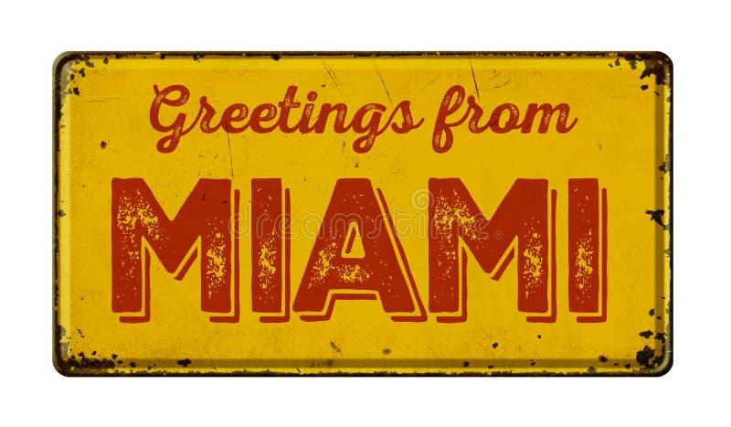 Cumprimentos de Miami fotografia de stock royalty free