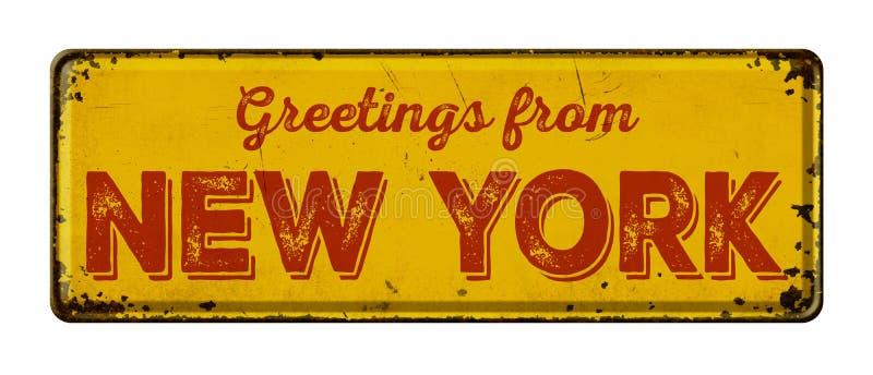Cumprimentos de New York fotos de stock royalty free