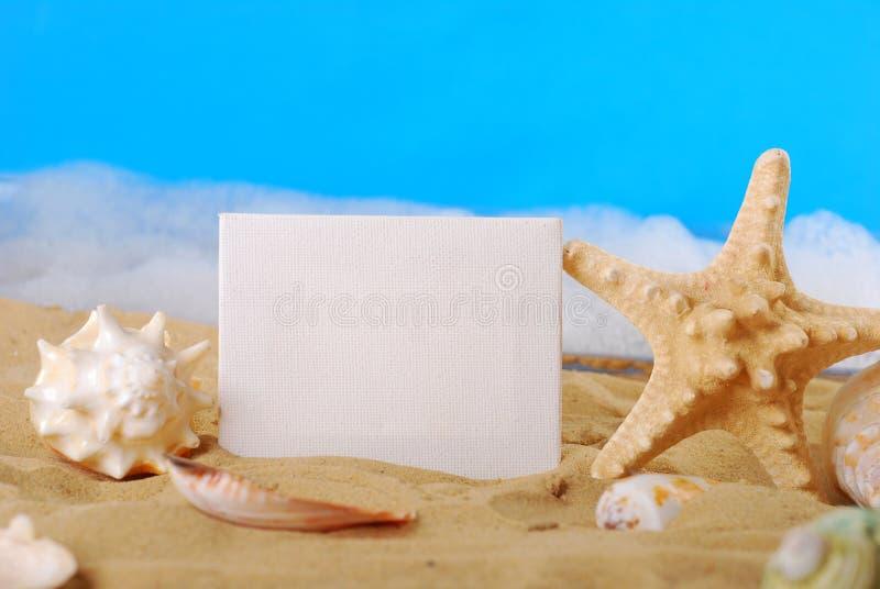 Cumprimentos do beira-mar imagens de stock