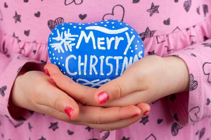 Cumprimentos do Feliz Natal fotografia de stock