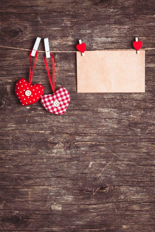 Cumprimentos do Valentim foto de stock