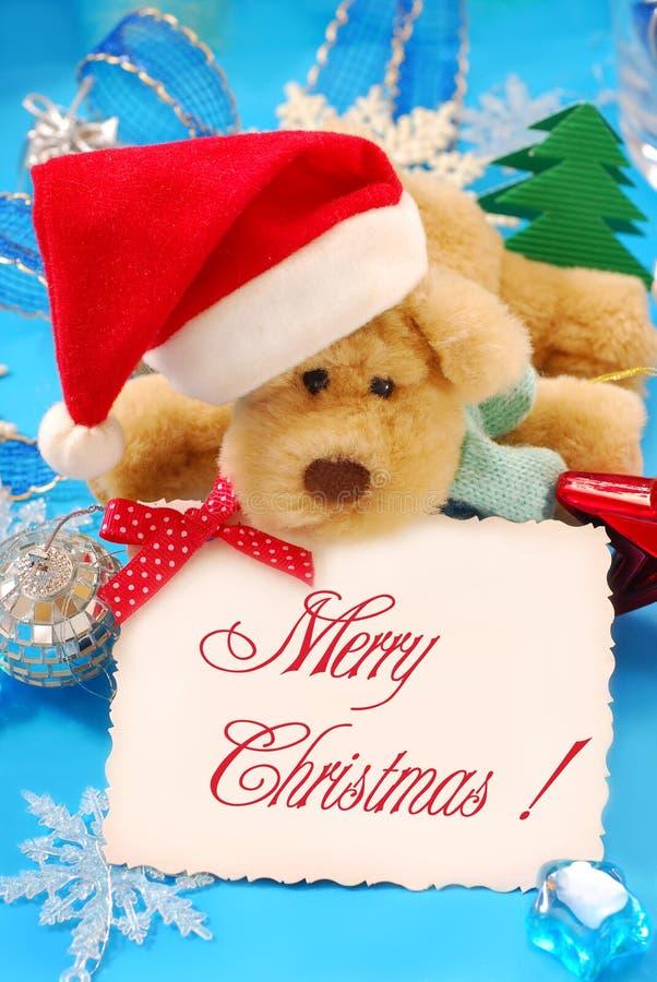 Cumprimentos doces do Natal foto de stock royalty free