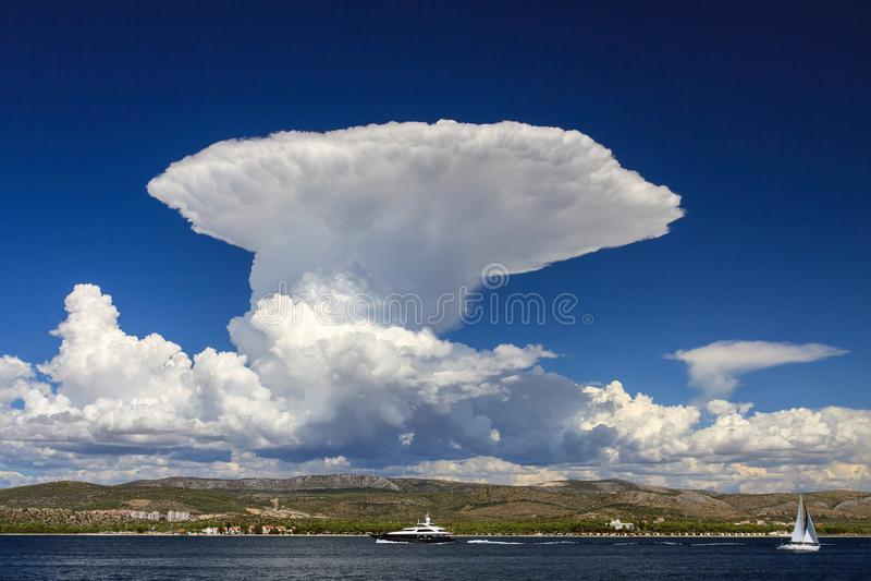 cumulonimbus zdjęcia stock
