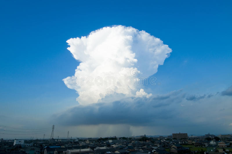Cumulonimbus стоковое фото