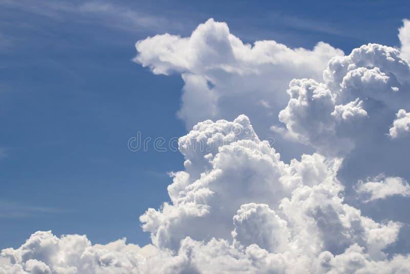 Cumulonimbus chmura zdjęcia royalty free