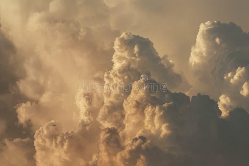 Cumulonimbus chmura fotografia stock