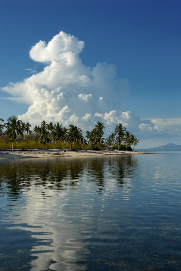 Cumulonimbus tropical images stock