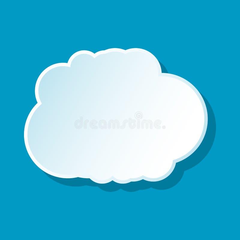Cumulus Cloud Icon Stock Vector Illustration Of Cumulus 83175588