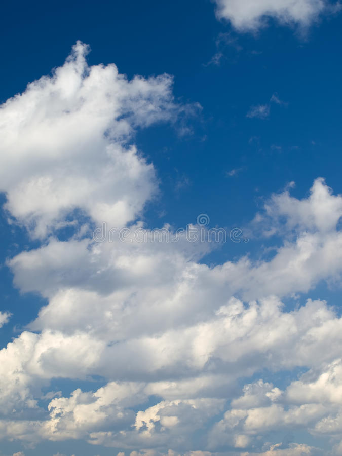 Download Cumulus clouds stock image. Image of nature, background - 17589053